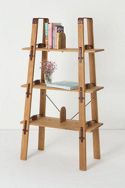 Repisa palets pinterest bibliotecas elementos de for Repisa escalera