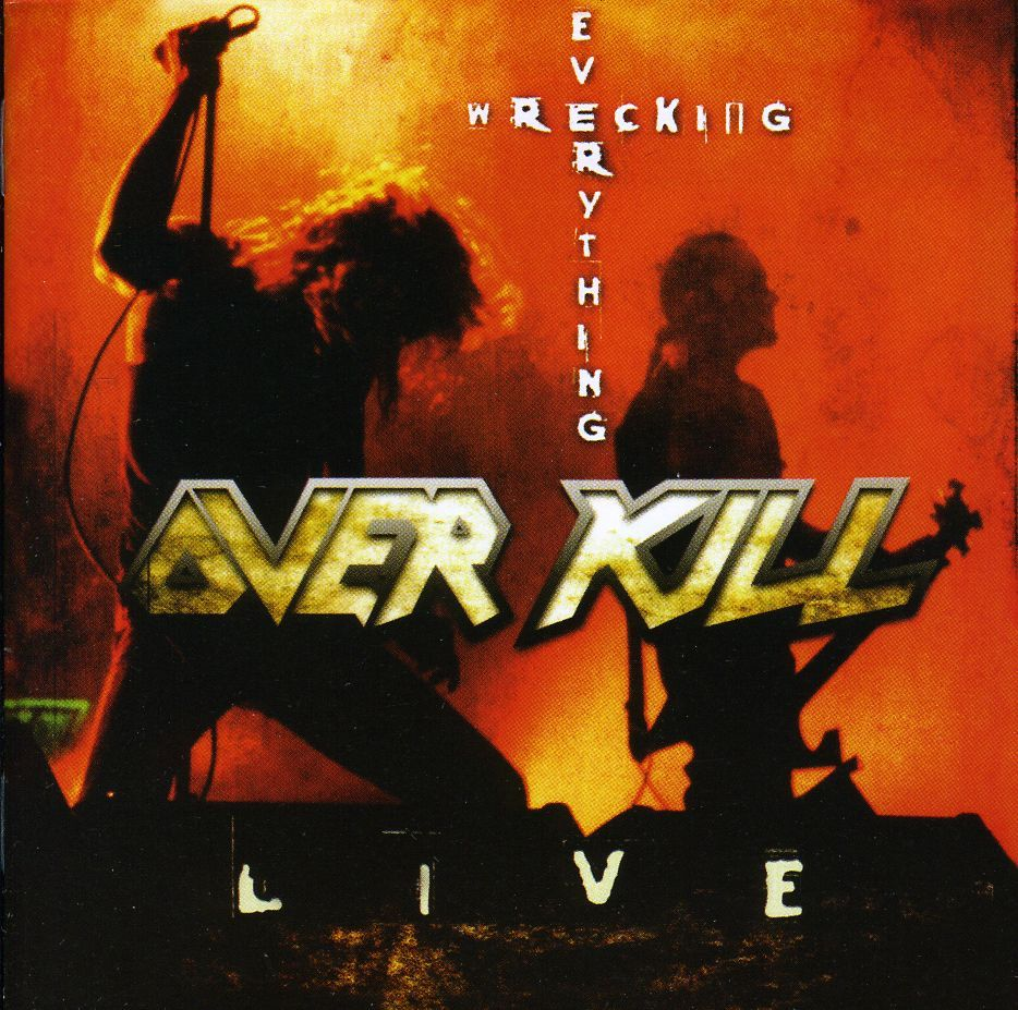 Over Kill - Wrecking Everything-Live