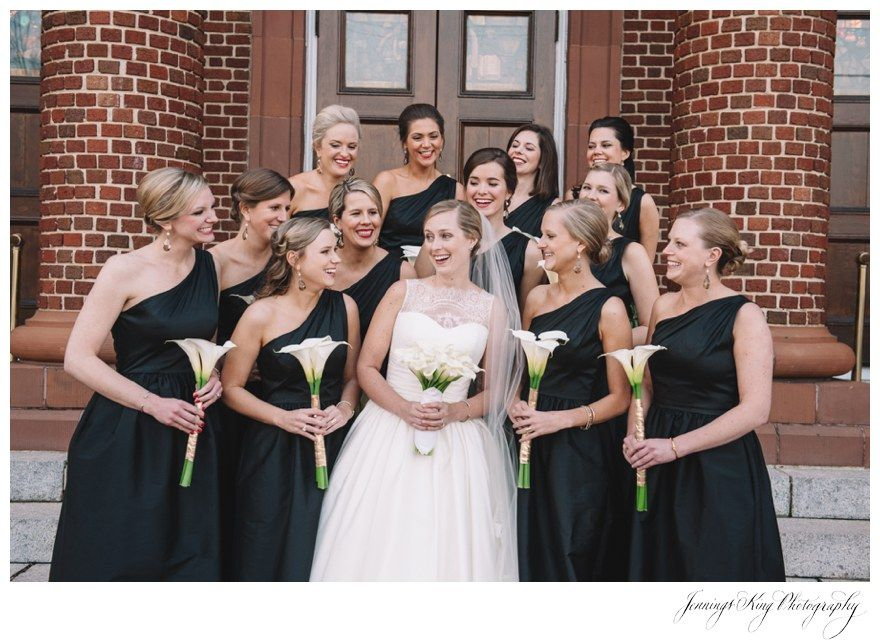 "Jennings King Photography | Emily & Bascom | Central United Methodist Church Wedding | Florence Country Club | New Years Eve Wedding | Gown Boutique | ""Paz"" by Augusts Jones 