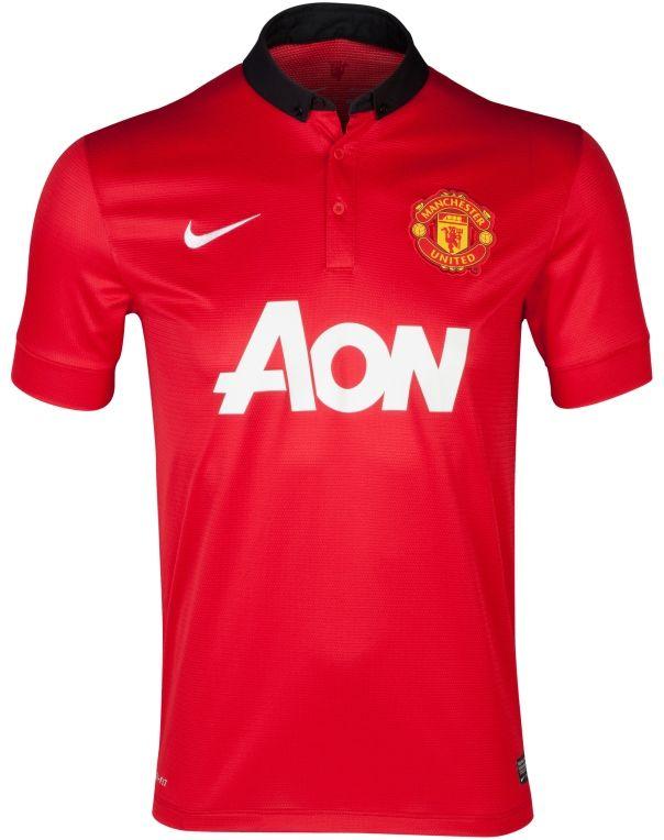 Manchester United Home Kit 2013-14 Nike  af816f4d9