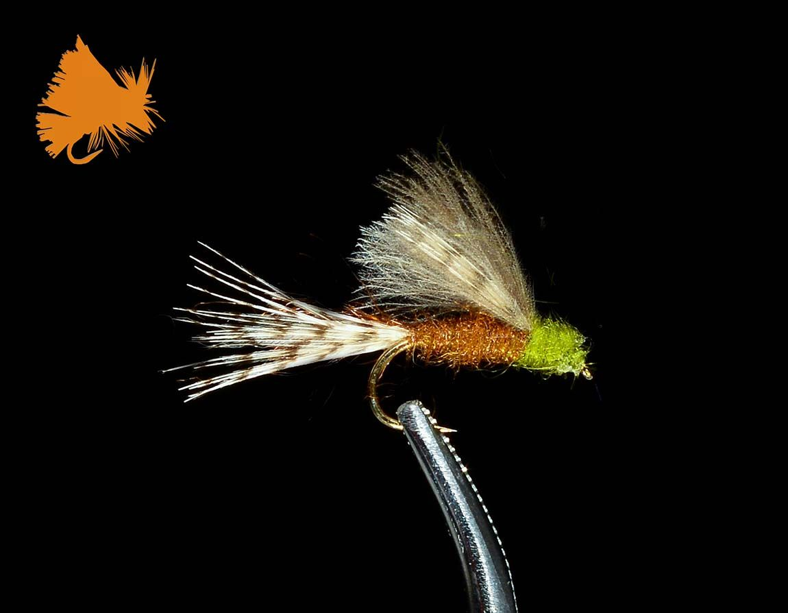 CDC Blue Wing Olive Cripple Emerger | Fly Ideas | Blue winged olive