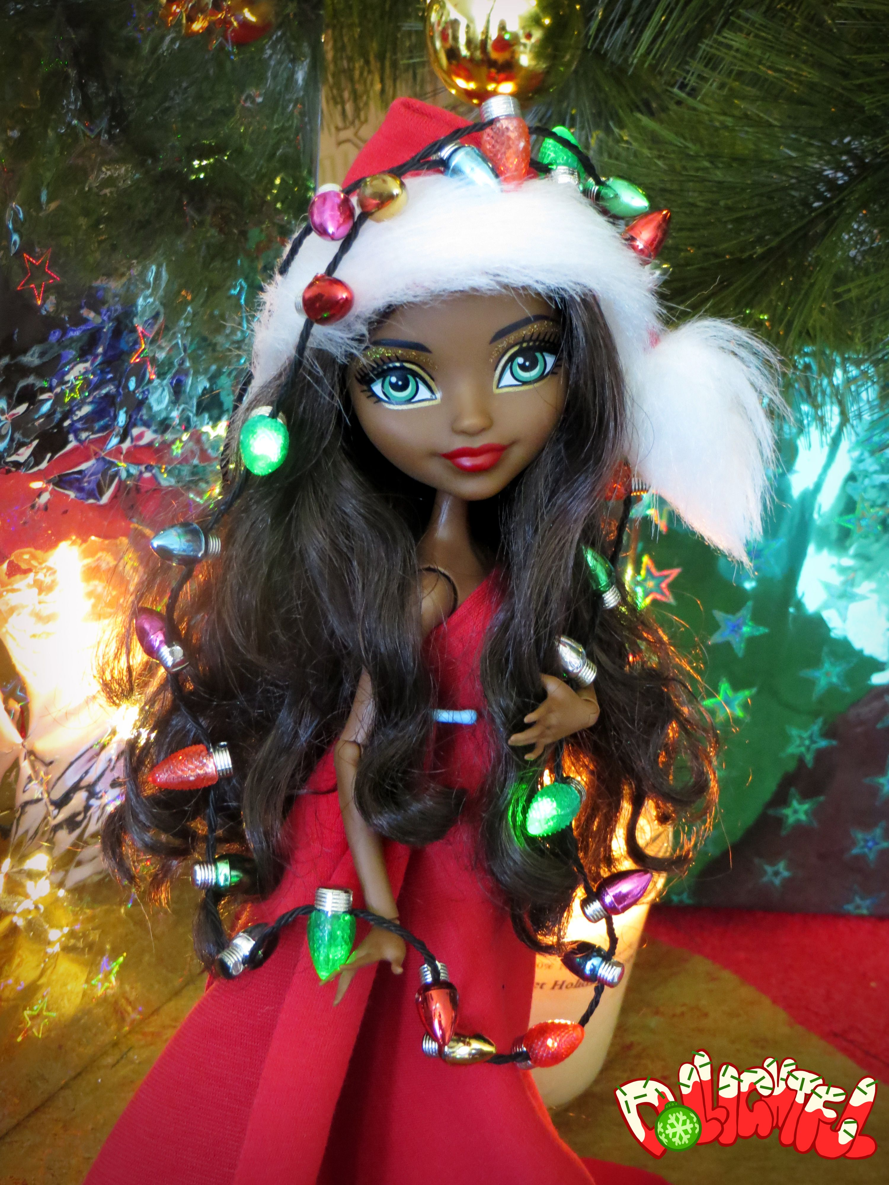 Merry Christmas! Santa hat DIY on youtube (easy and fun!) | OOAK ...