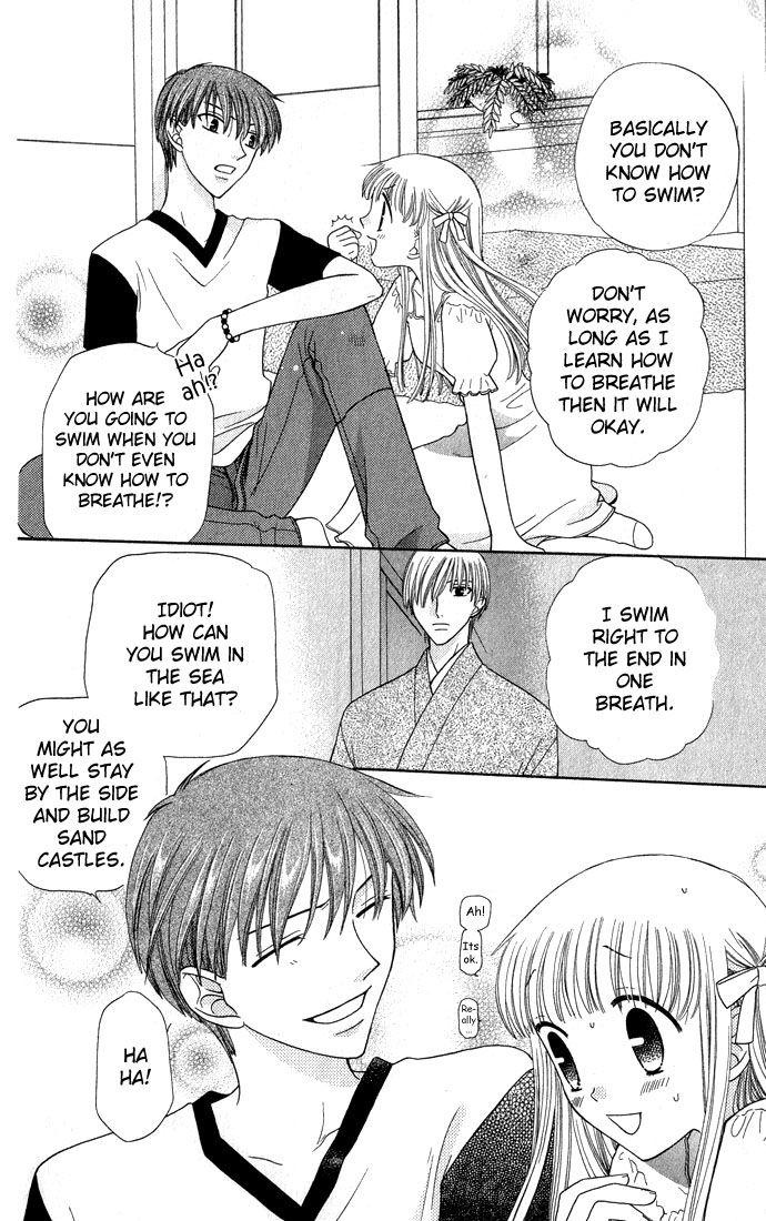When you finally think Tohru is smart XD Fruits basket