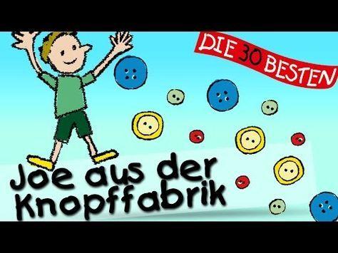 Joe aus der Knopffabrik - Die besten Kinderturnlieder