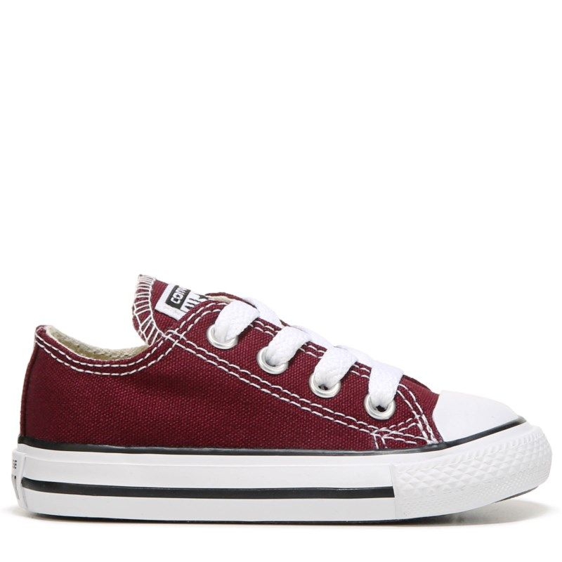 735f8b4b2e0a25 Converse Kids  Chuck Taylor All Star Low Top Sneaker Toddler Shoes (Red)