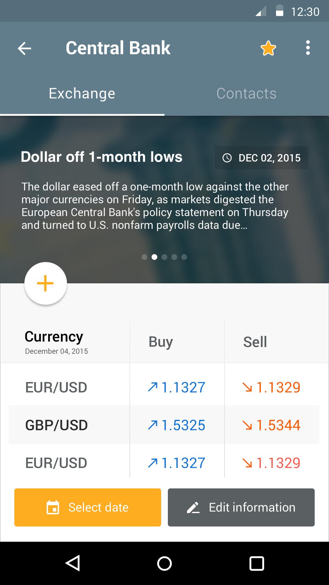 Money app   exchange 2x