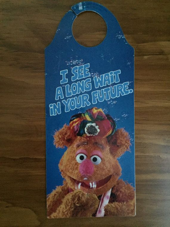 Humorous Hallmark & Jim Henson's Muppets Fozzie by HonorableMommy