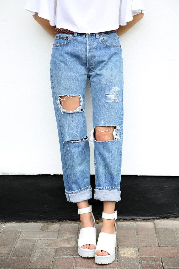 vintage levi 39 s ripped mom jeans items pinterest ripped mom. Black Bedroom Furniture Sets. Home Design Ideas