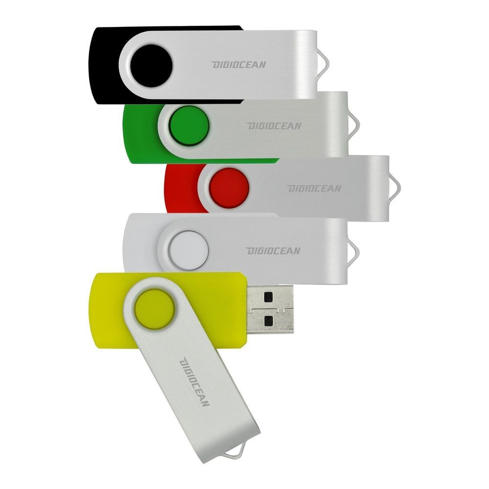 DigiOcean USB 3.0 Flash Drive 32 GB Thumb Drive 5 Multi