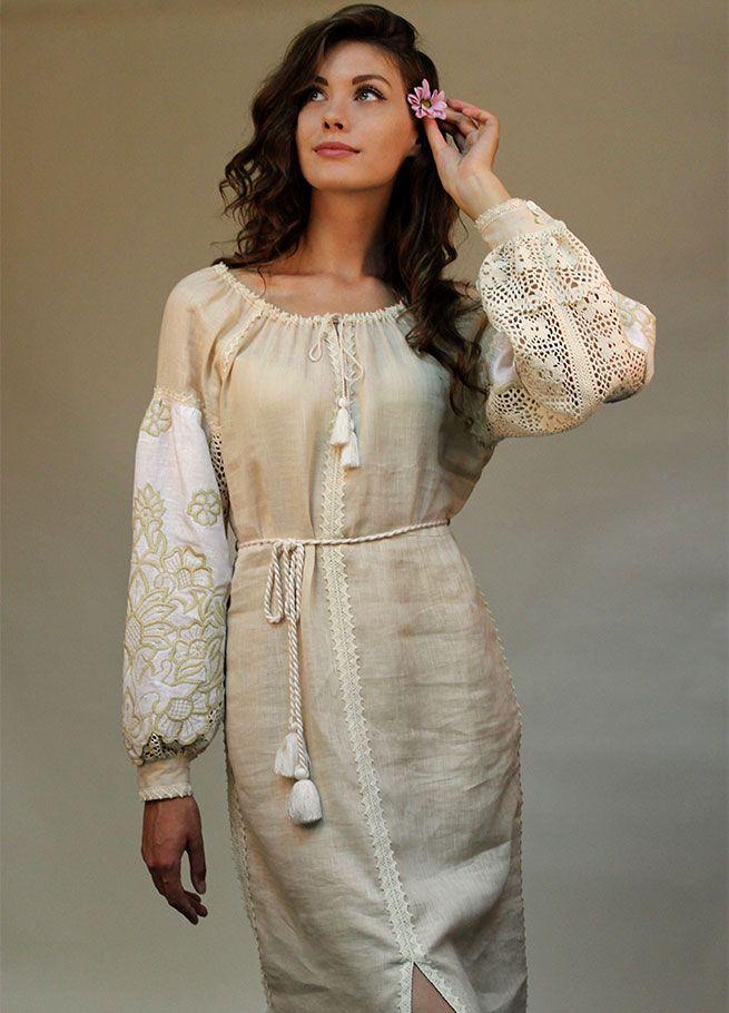 Ніжна сукня з вишивкою