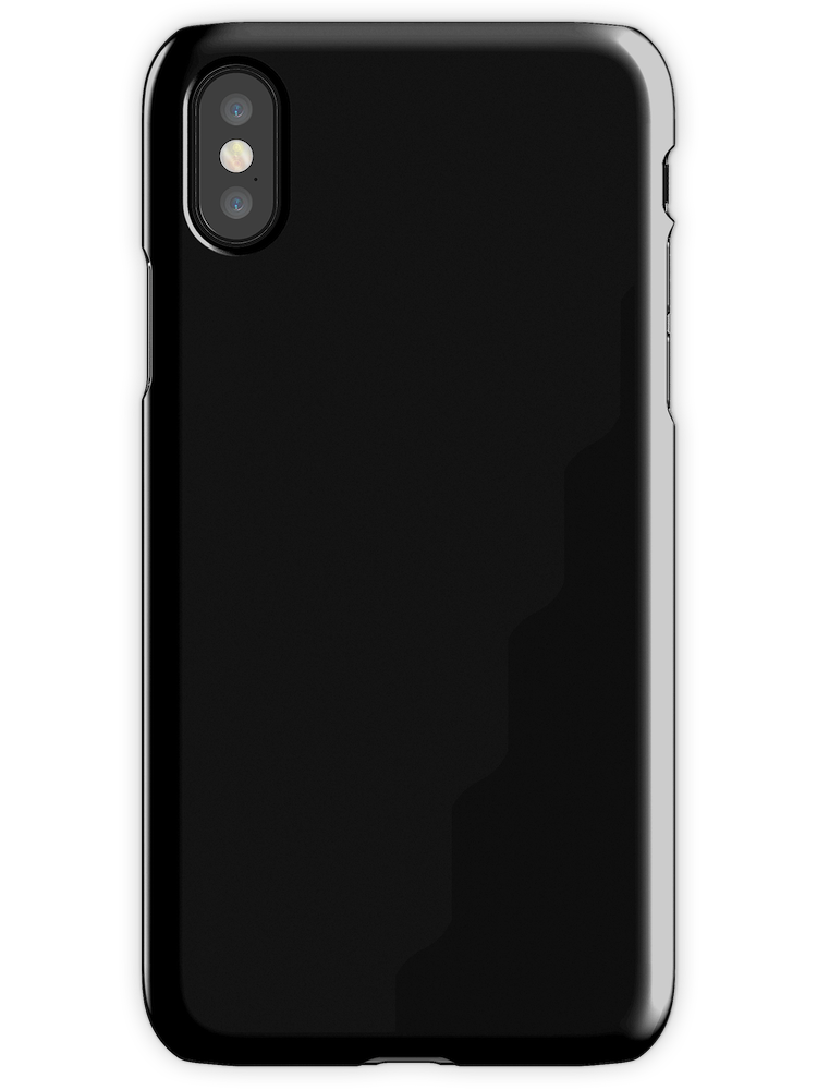 newest 18128 1e711 Plain Solid Black iPhone X Snap Case | Products | Iphone, Iphone ...