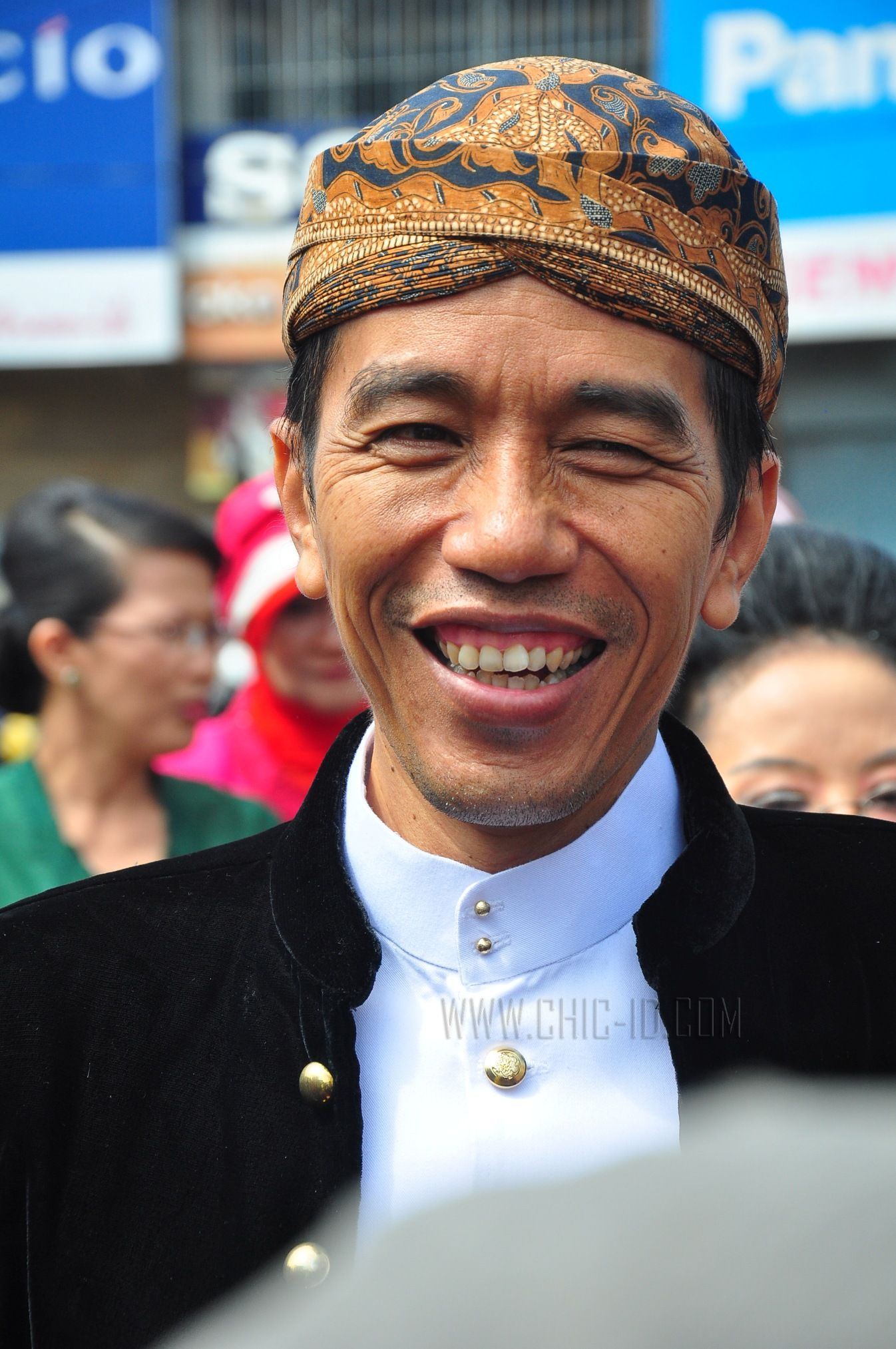 Walikota Solo Surakarta Ir Joko Widodo masuk dalam