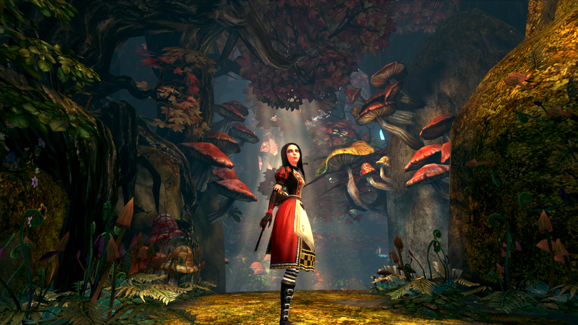 The Art Of Alice: Madness Returns featuring an unusual ...