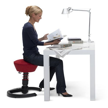 Swopper An Ideal Seat For The Active Office Swopper Introduces A Whole Range Of Natural Fluid And Intuitive Motion Active Office Desk Chair Alternative Desk