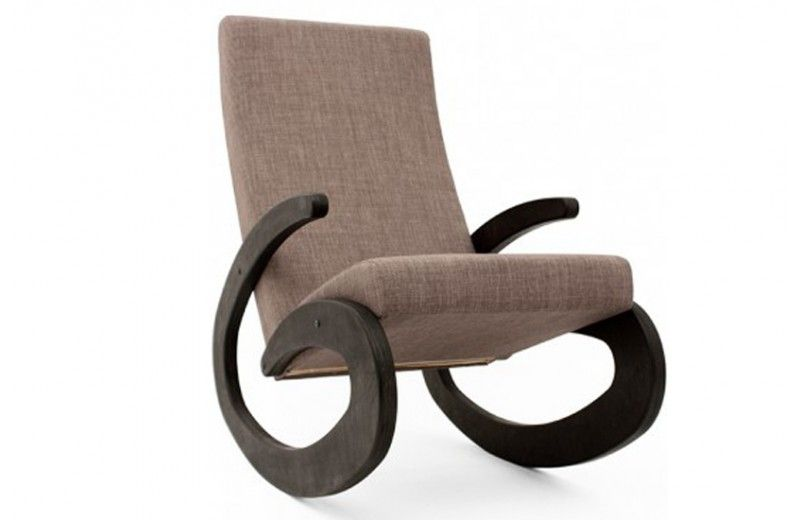 Rocking Chair Design G En Bois Fauteuil à Bascule Blanc Radis - Fauteuil rocking chair design