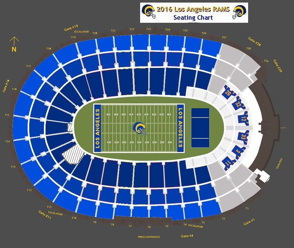 Rams Tickets Seating Chart Di 2020