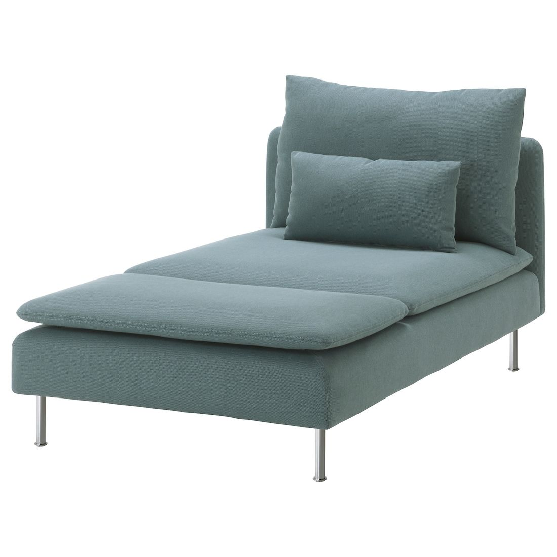 Photo of SÖDERHAMN Chaise, Finnsta turquoise – IKEA