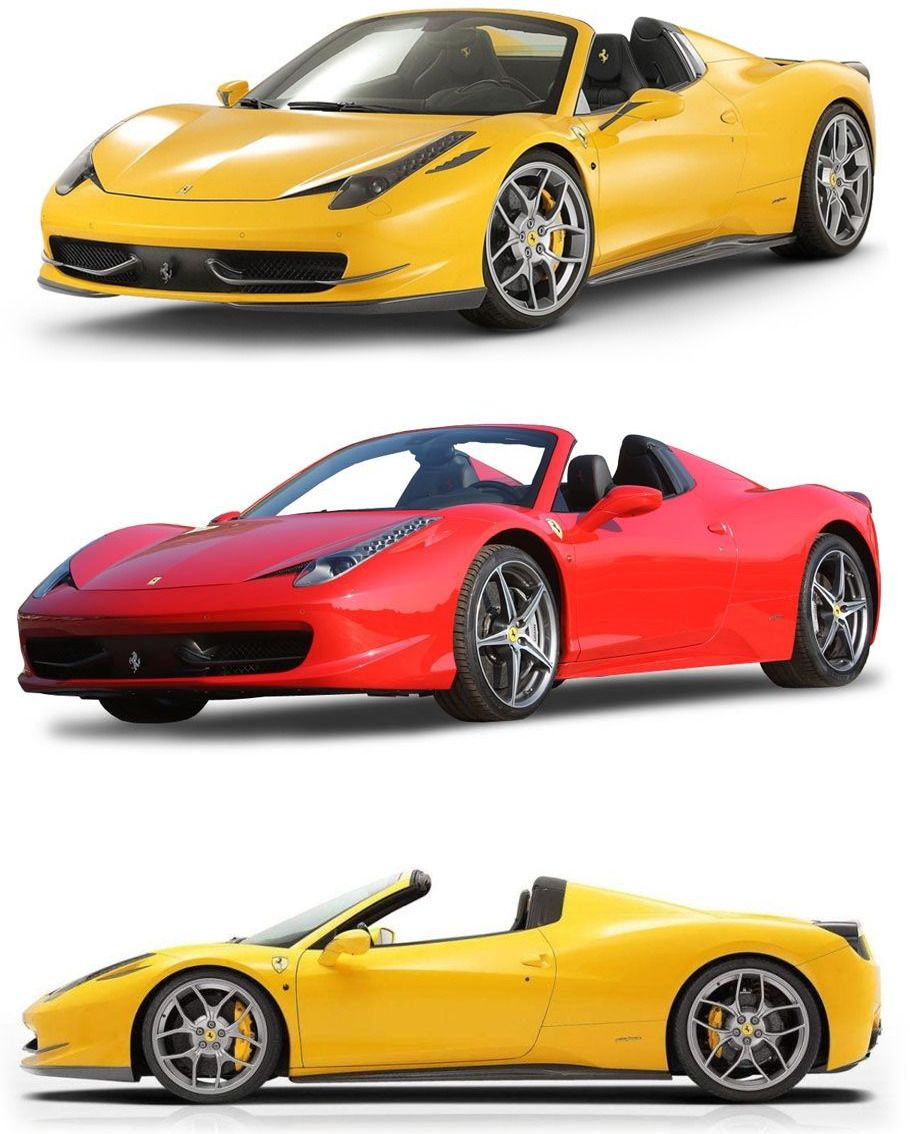 Here Presents Ferrari 458 Spider With Ultimate V8 Engine And