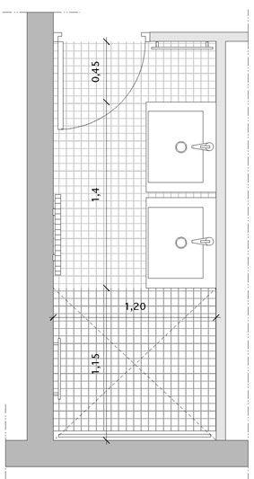 salle de bain étroite avec baignoire | salle de bain | Pinterest ...