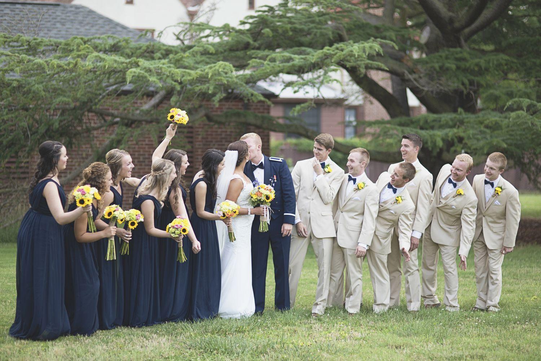 Langley Chapel Air Force Wedding