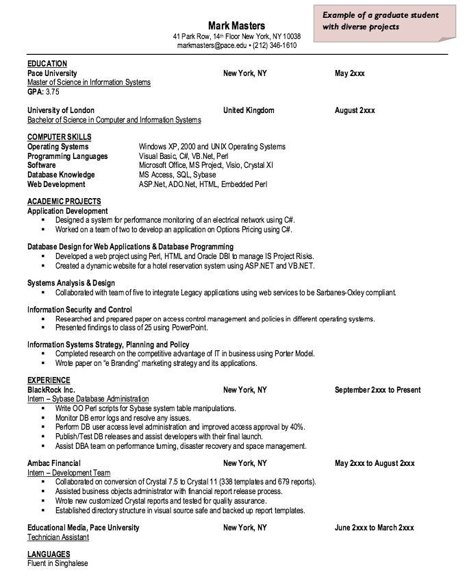Sybase Database Administration Resume Sample  Http