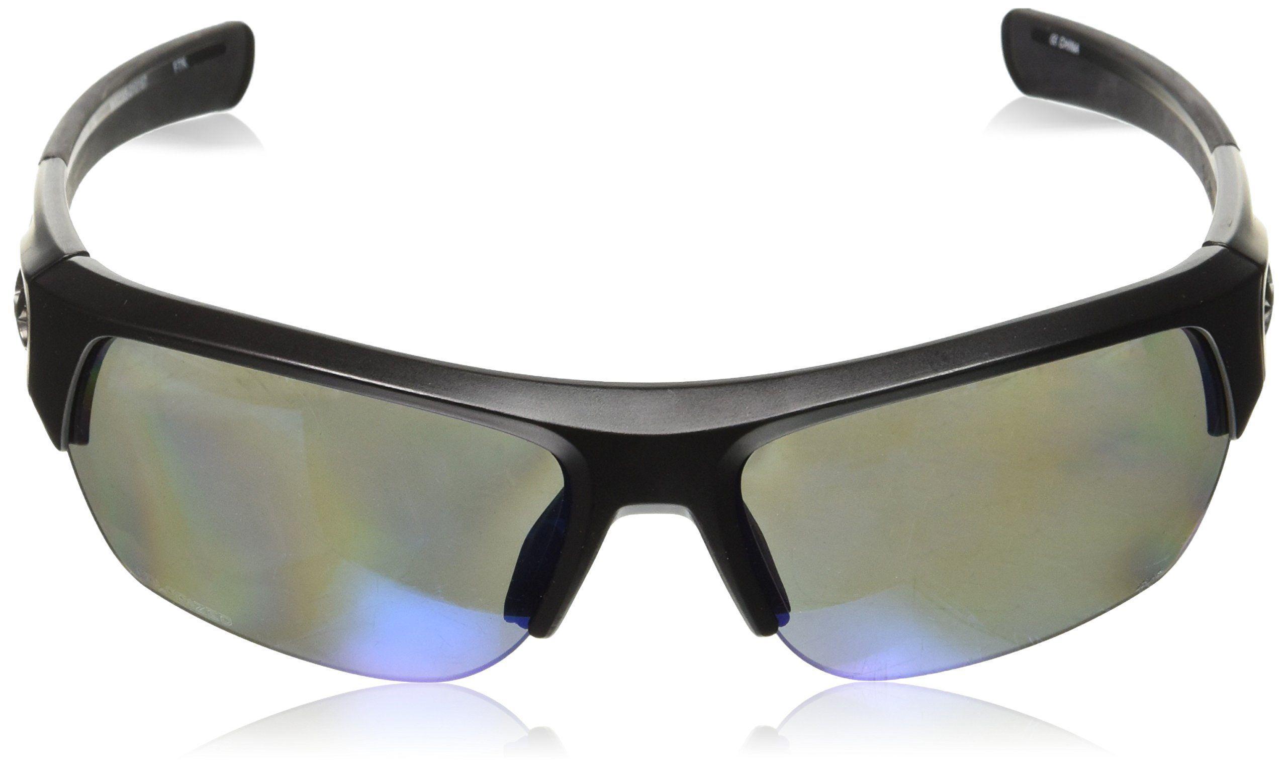 2d680d2811e Under Armour UA Big Shot Polarized Wrap Sunglasses UA Big Shot Satin Black    Black
