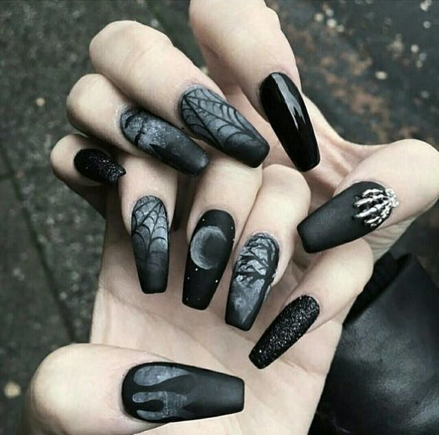 54 Witch Nail Art Ideas To Enchant And Delight You Witch Nails