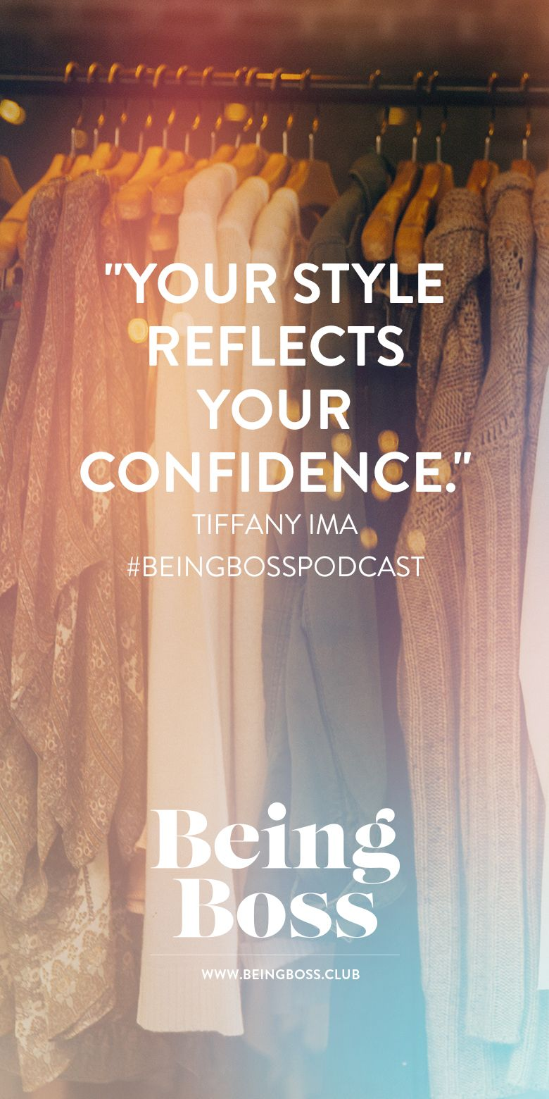 Style reflects confidence