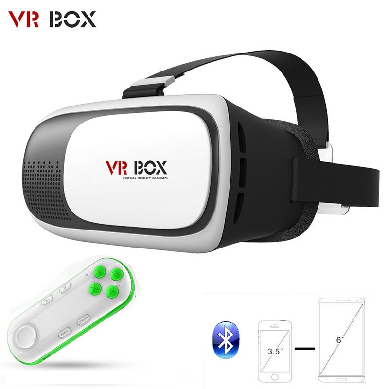b62274d7b175 Find More 3D Glasses  Virtual Reality Glasses Information about VR BOX VR 2  II 3D VR Box Glasses Upgraded Version Virtual Reality 3D Video Headset for  Smart ...
