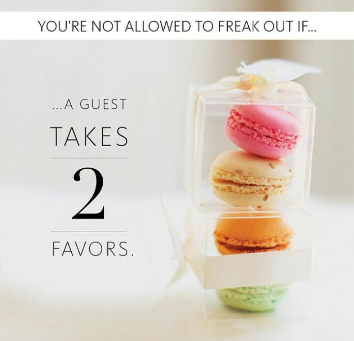 Packaging idea for macaron favors  #theknotweddings