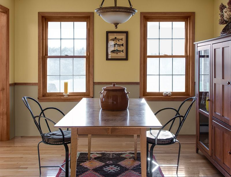 Portfolio Of Work Onsite Virtual Color Consultations Dining Room Paint Colors Dining Room Paint Wood Chair Design #two #tone #living #room #walls