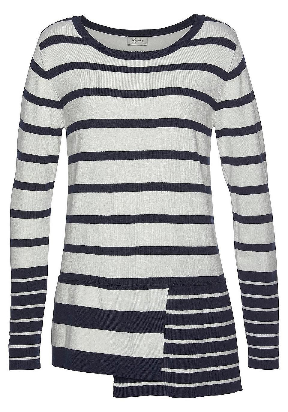wholesale dealer 008f9 baccd Boysen's Strickpullover online | Maritime Mode | BAUR in ...