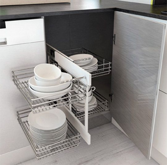 Cómo elegir accesorios para ordenar la cocina - Leroy Merlin | orden ...