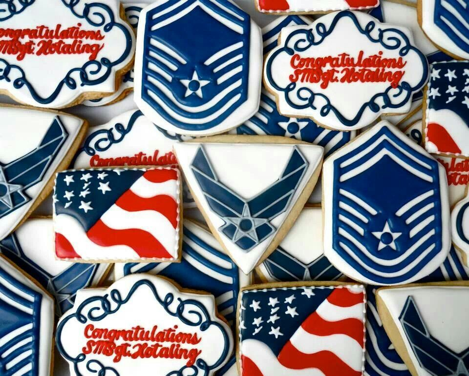 b00649230e68 Military cookies by Oh Sugar