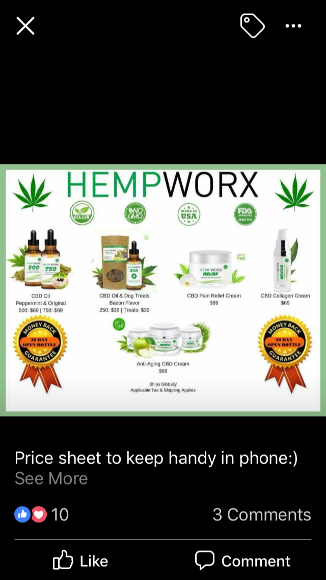 a325683ed4fa3b Check out our prices! Pure CBD oil with all the benefits you could ever ask  for!!! Click the pic to order now with a 30 day money back guarantee!