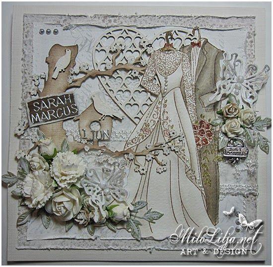 Blog inspiracyjny Scrapiniec.pl: Wedding time by Milo