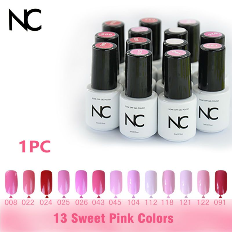 Gel Varnish for a French Manicure Magic Gel Nail Polish Pink 13 Gel ...