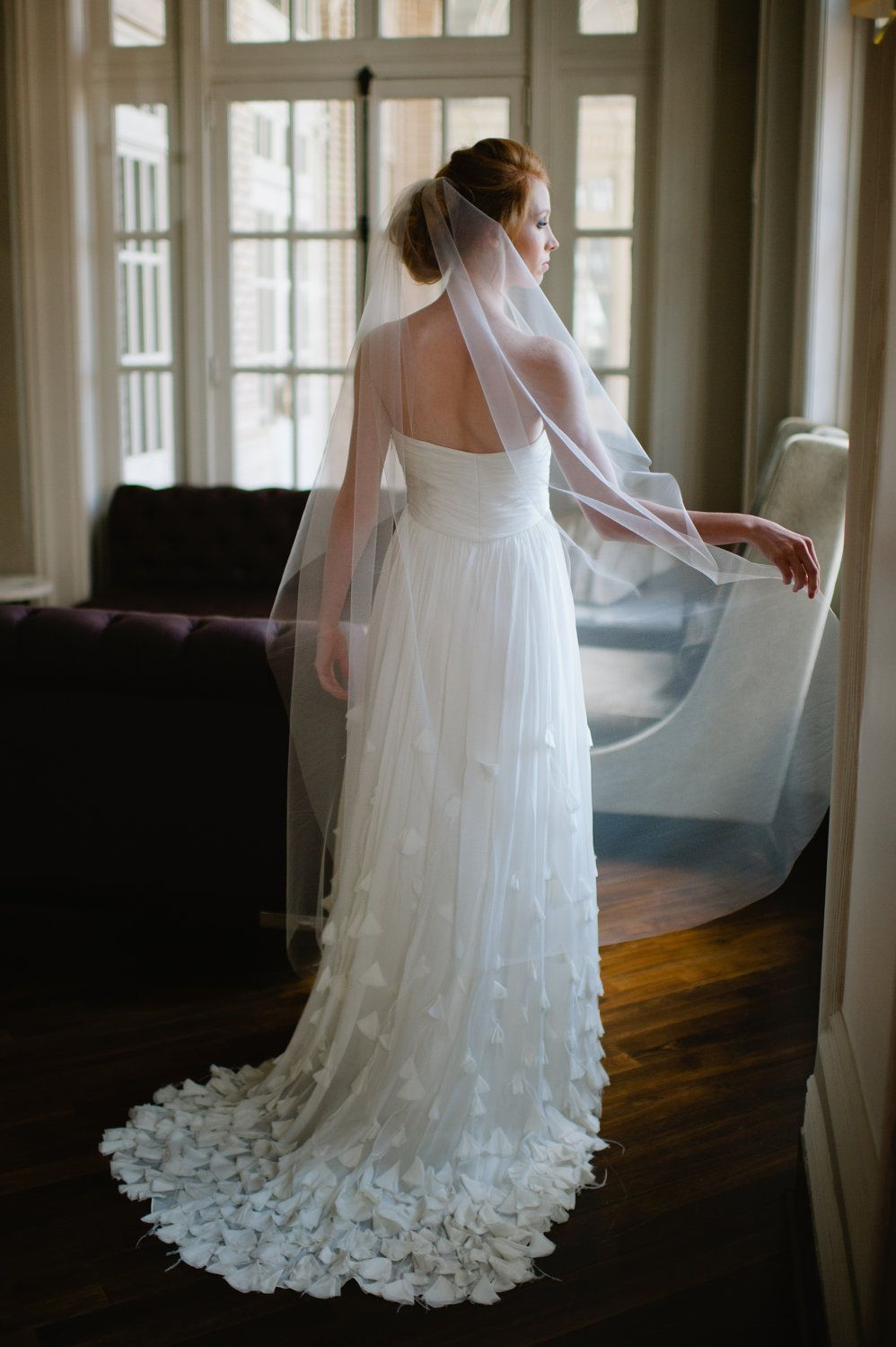 Single Layer Tulle Bridal Veil