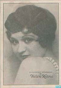 Lonesome Liz's Wild West Show: Helen Kane, the Real Life Betty Boop