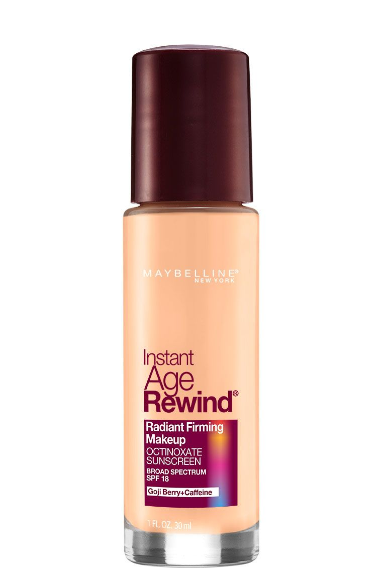 Instant Age Rewind Radiant Firming Foundation Makeup By Maybelline Anti Aging Liquid Foundation With Spf To Age Rewind No Foundation Makeup Makeup Foundation