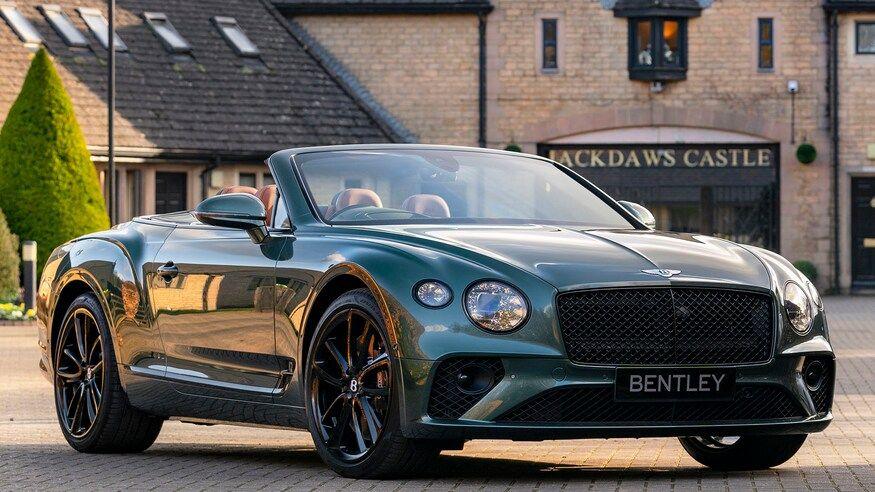 Bentley Continental GT Convertible Equestrian Edition Is