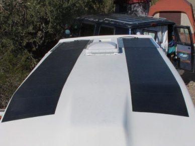 Cheap Rv Living Com Installing Flexible Solar Panels On A Fiberglass Roof Flexible Solar Panels Fibreglass Roof Best Solar Panels