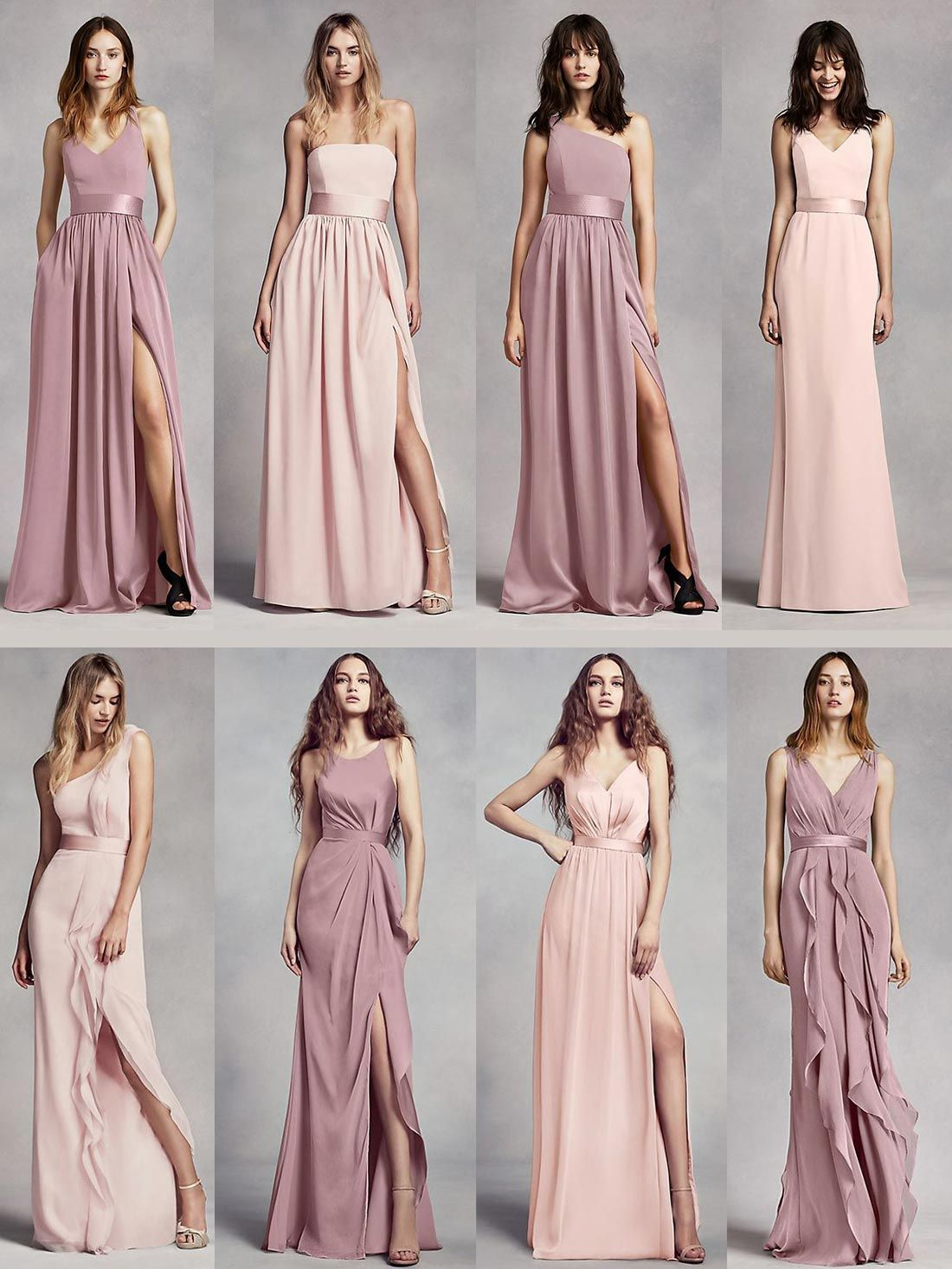 b01159d61a David s Bridal mix and match bridesmaids dresses that will work perfectly  for your upcoming wedding. Additionally