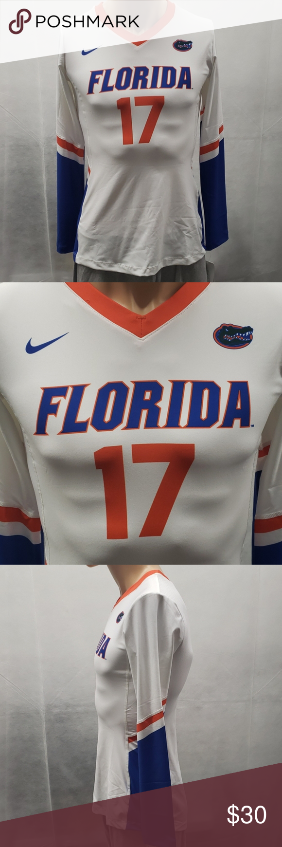 Florida Gators Volleyball Jersey Nike M In 2020 Volleyball Jerseys Florida Gators Volleyball
