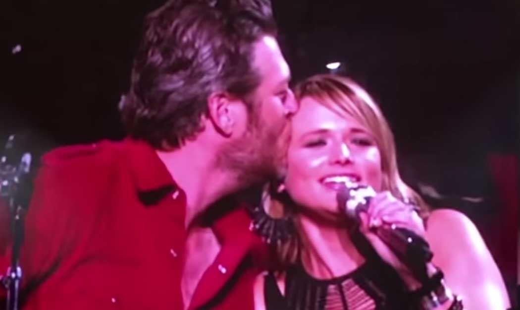 Blake Shelton Shows Up at Miranda Lambert Show