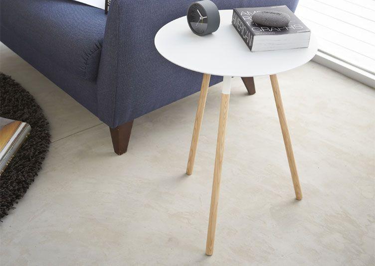 gueridon design scandinave blanc gueridon pinterest. Black Bedroom Furniture Sets. Home Design Ideas