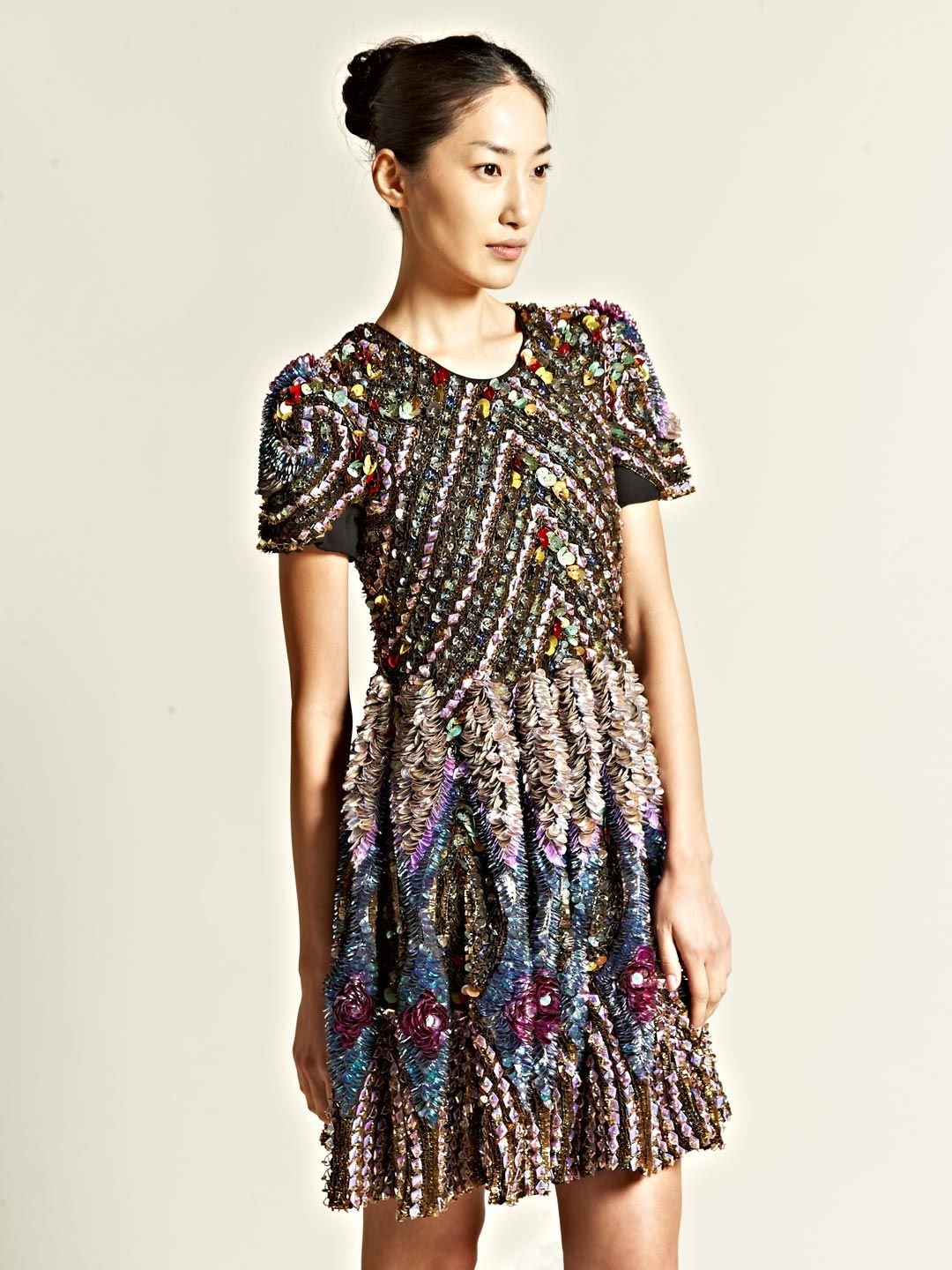 James long encrusted dress up pinterest sequins clothes and