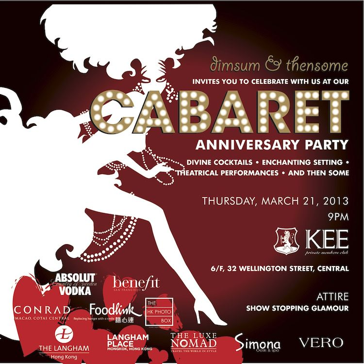 cabaret party invitations - Google Search | Work | Pinterest