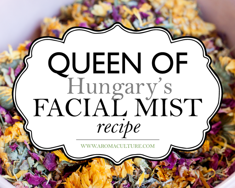 Queen of hungarys facial mist recipe healthbeauty crafts queen of hungarys facial mist recipe solutioingenieria Gallery