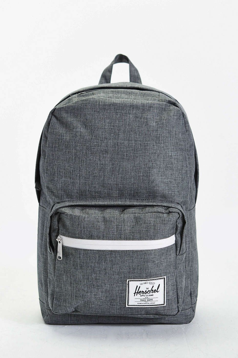 Herschel Supply Co. Pop Quiz Charcoal Cross-Stitch Backpack  efb2d2031b5c1